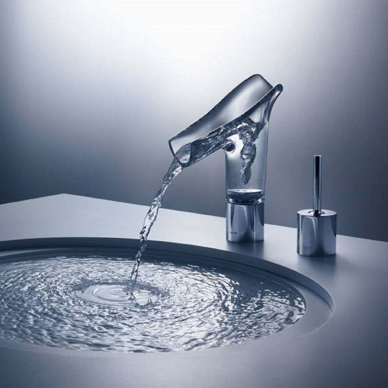 AXOR HANSGROHE STARCK V SINGLE LEVER BASIN MIXER - TattaHome