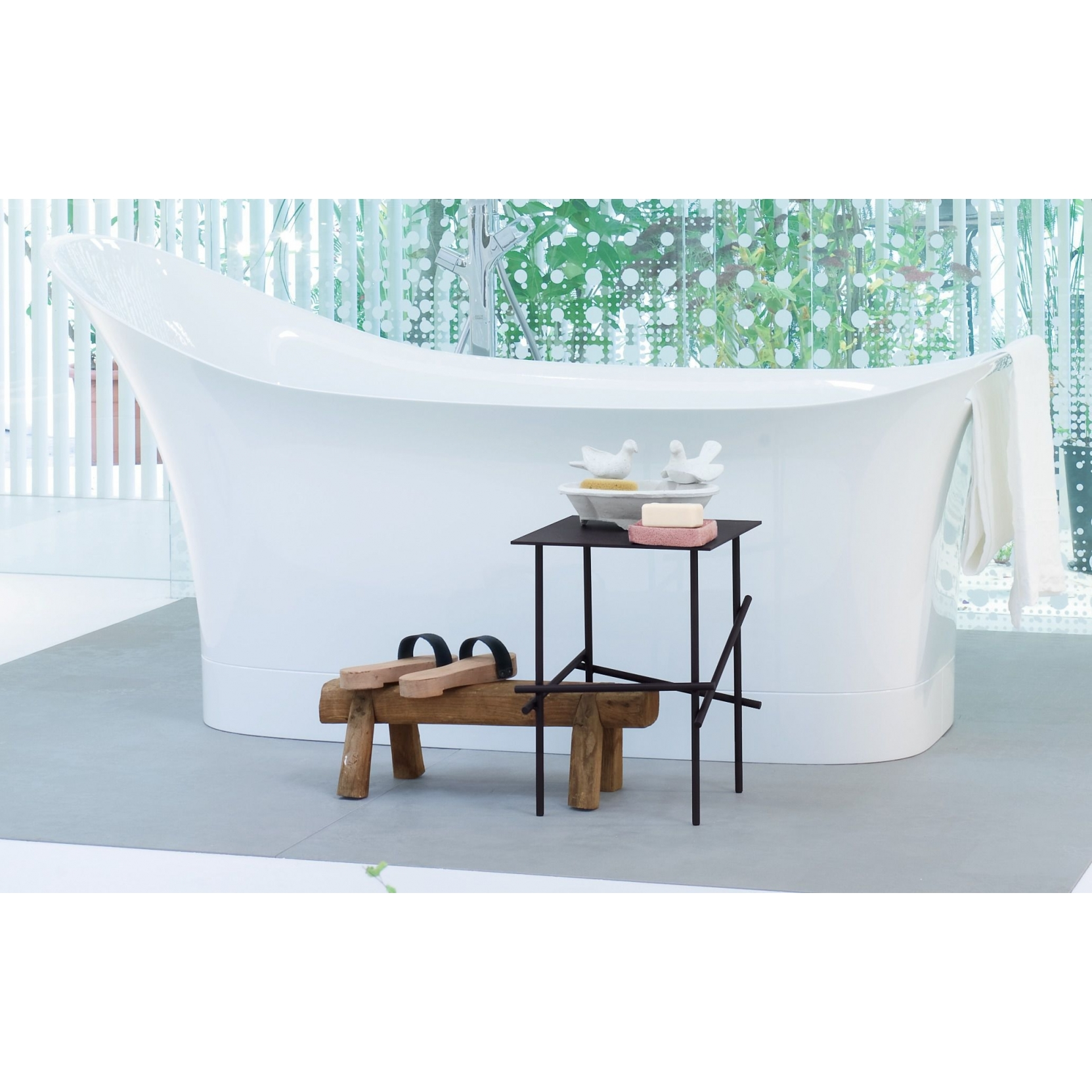 AXOR HANSGROHE URQUIOLA FREESTANDING BATHTUB IN STOCK - TattaHome