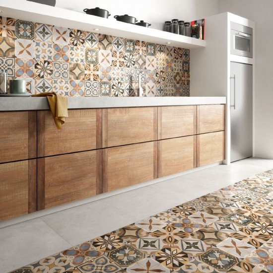 CERAMICA SANT'AGOSTINO PATCHWORK COLORS MIX