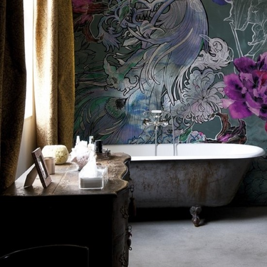 Wall & Decò WET SYSTEM Mystical Dream WALLPAPER