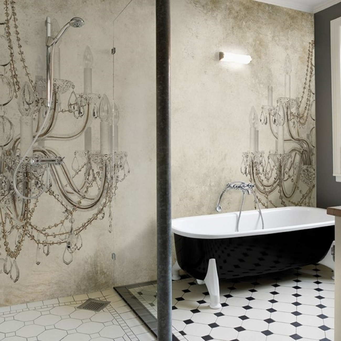 Wall dec wet system viktoria wallpaper tattahome for Wall and deco
