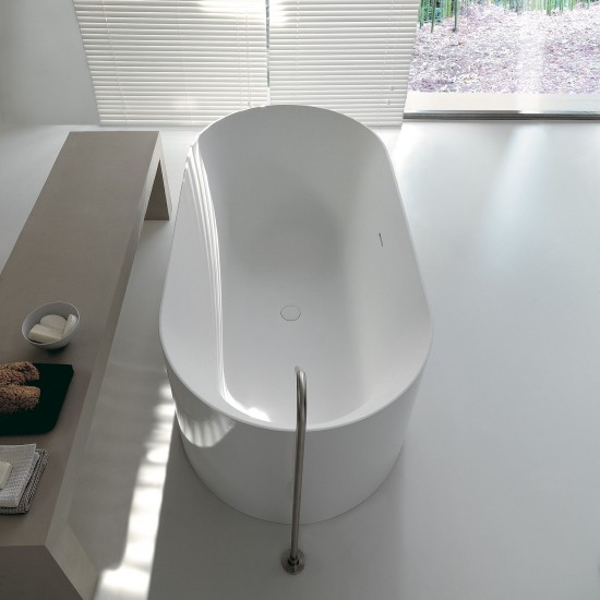 KERASAN G&M OVAL FREESTANDING BATHTUB