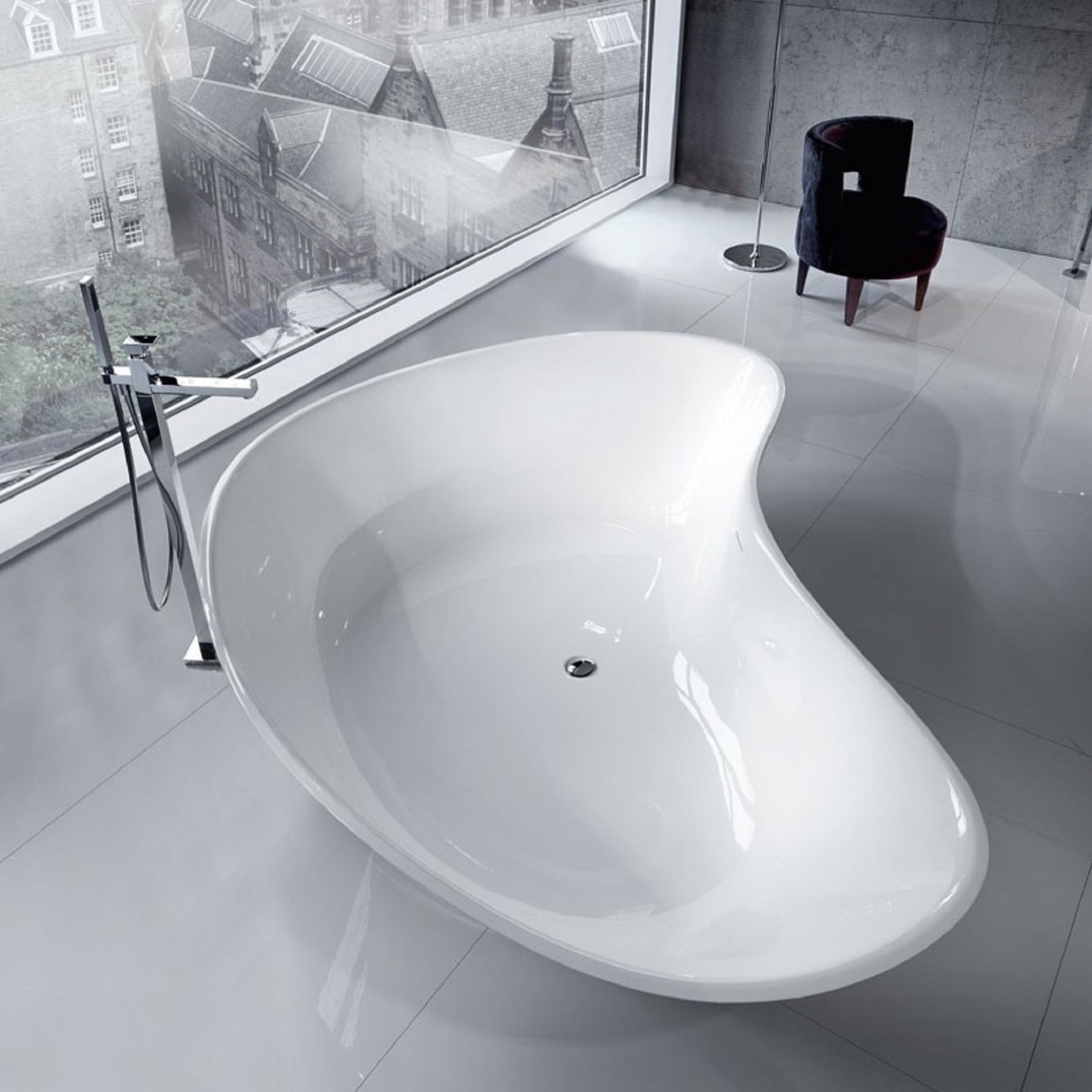 FALPER LEVEL 45 KING SIZE FREESTANDING BATHTUB - TattaHome