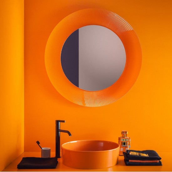 KARTELL BY LAUFEN MIRROR WITH LED