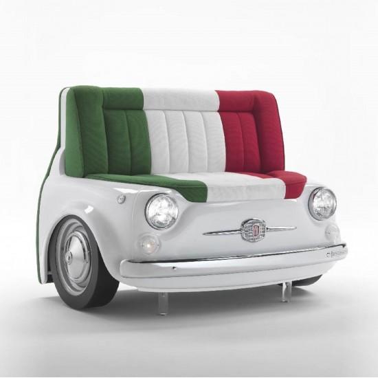 MERITALIA FIAT 500 PANORAMA SOFA'