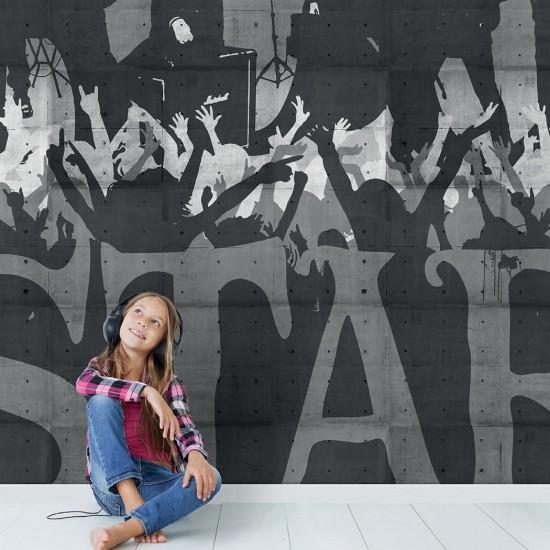 LONDON ART DYLAN WALLPAPER FOR KIDS