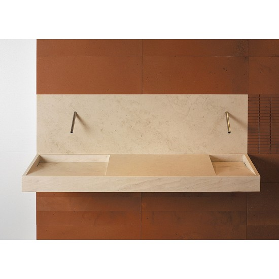 PIBAMARMI BASIC COLLECTION SLOPE LAVABO