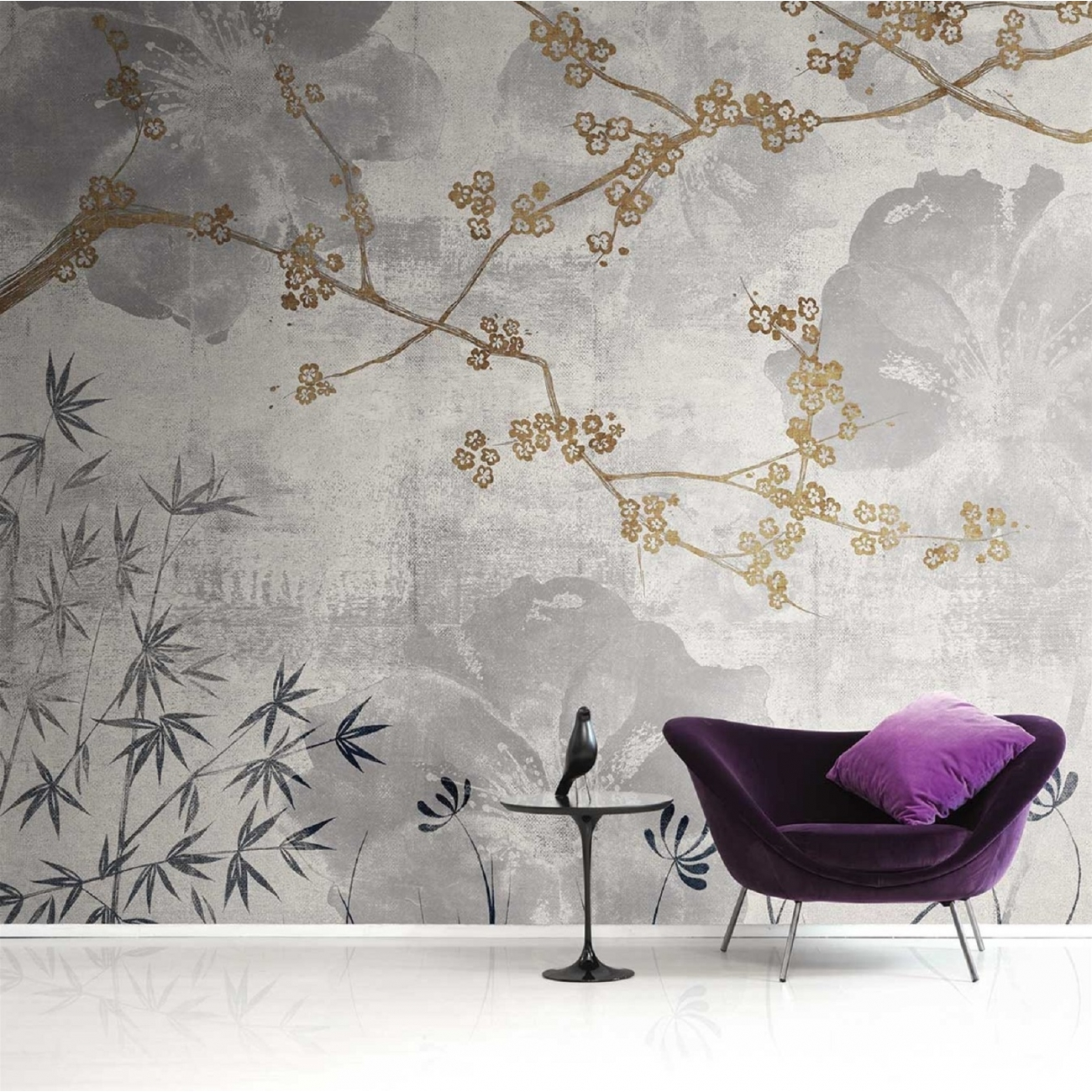 London Art Better Days Wallpaper Tattahome