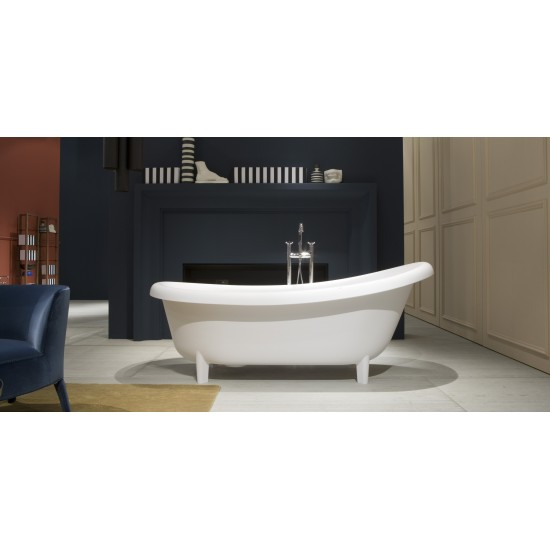 SUITE248 Antonio Lupi Oval Cristalplant Bathtub