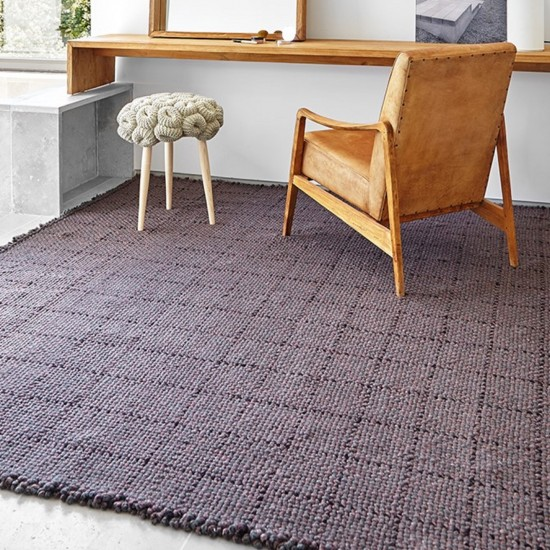 GAN SPACES WAAN DARK RED RUG 250