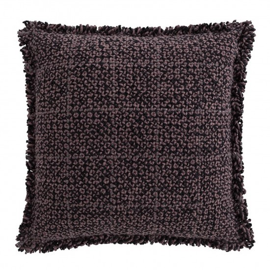 GAN SPACES WAAN DARK RED POUF
