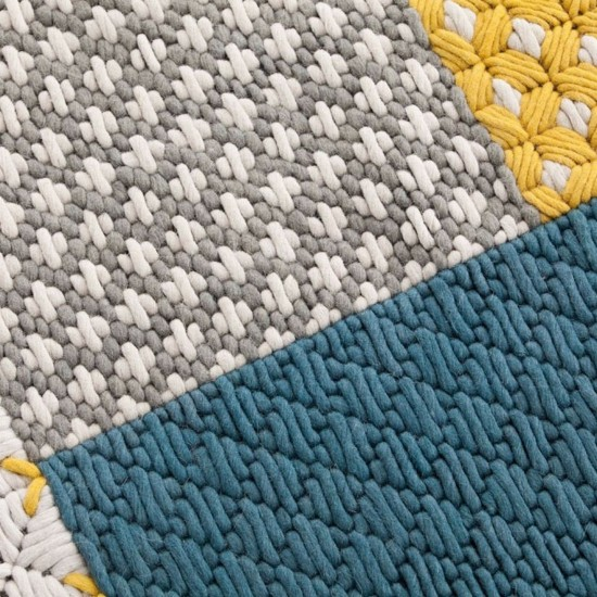 GAN SPACES SILAI BLUE RUG 171
