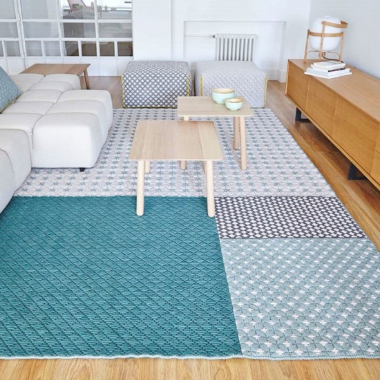 GAN SPACES SILAI GREEN RUG 201