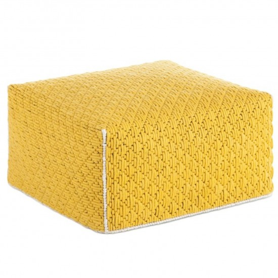 GAN SPACES SILAI YELLOW BIG POUF