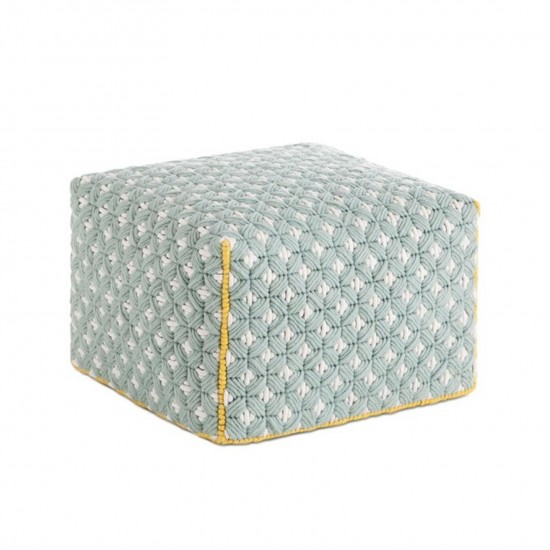 GAN SPACES SILAI CELADON SMALL POUF