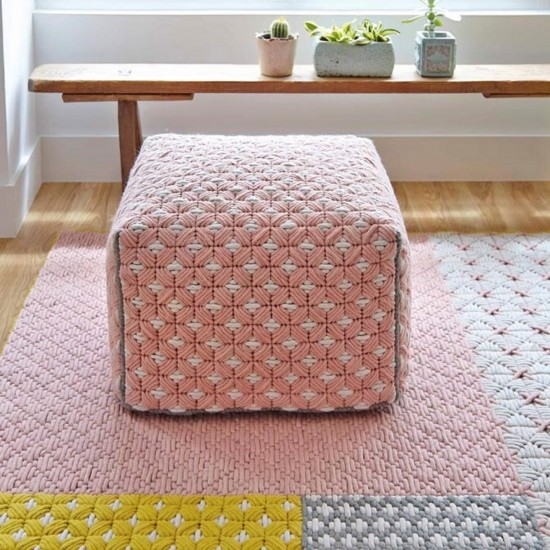 GAN SPACES SILAI ROSE SMALL POUF