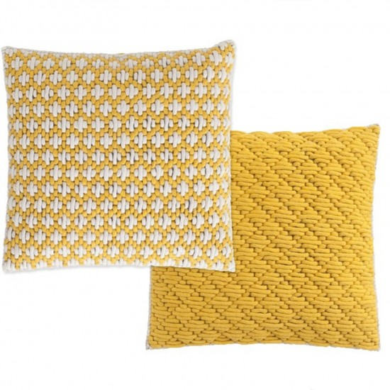 GAN SPACES SILAI YELLOW-YELLOW CUSHION