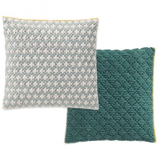 GAN SPACES SILAI CELADON-GREEN CUSHION