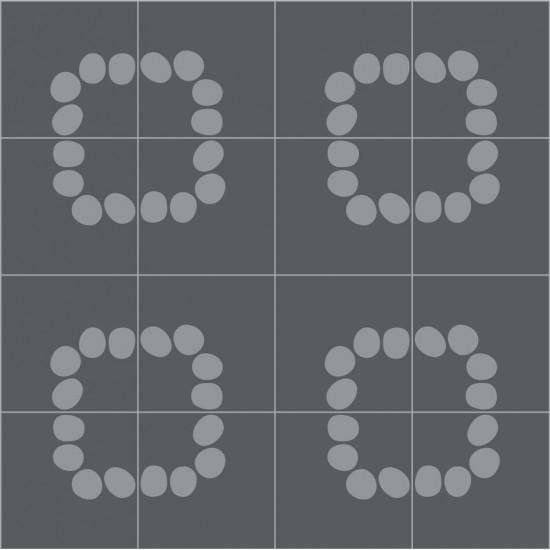BISAZZA CEMENTILES CURVA NAVONE 20X20 Q