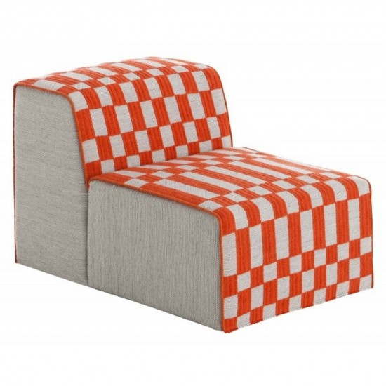 GAN SPACES BANDAS B ORANGE CHAIR