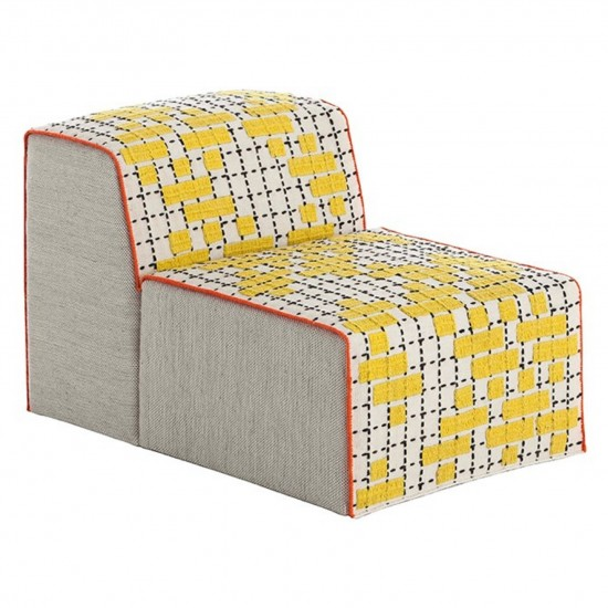 GAN SPACES BANDAS C YELLOW CHAIR