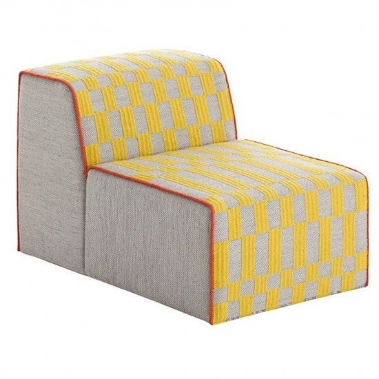 GAN SPACES BANDAS B YELLOW CHAIR