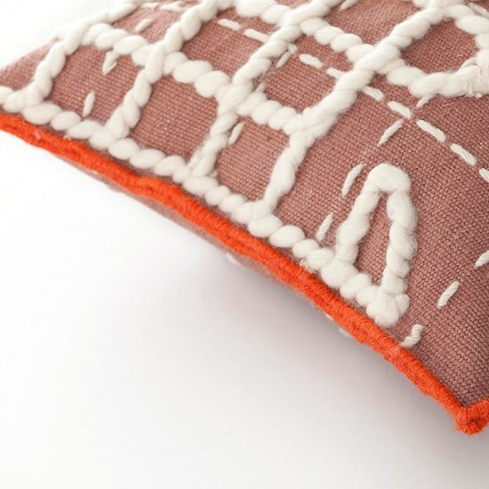 GAN SPACES BANDAS A PINK SINGLE CUSHION
