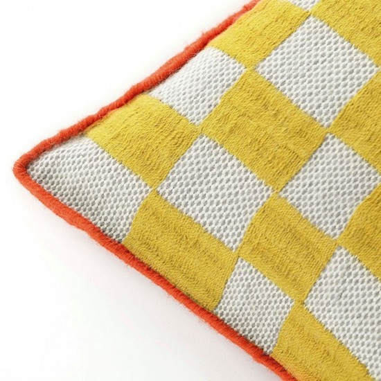 GAN SPACES BANDAS B YELLOW SINGLE CUSHION