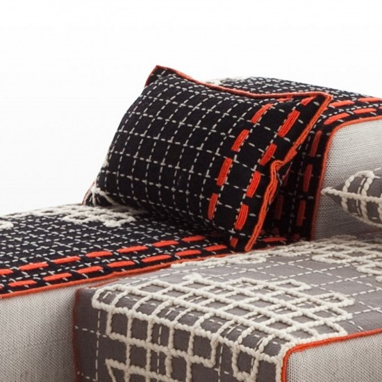GAN SPACES BANDAS D BLACK SINGLE CUSHION