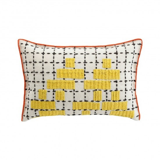 GAN SPACES BANDAS C YELLOW SINGLE CUSHION