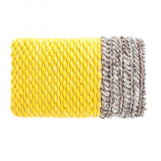 GAN SPACES MANGAS SPACES PLAIT YELLOW CUSHION