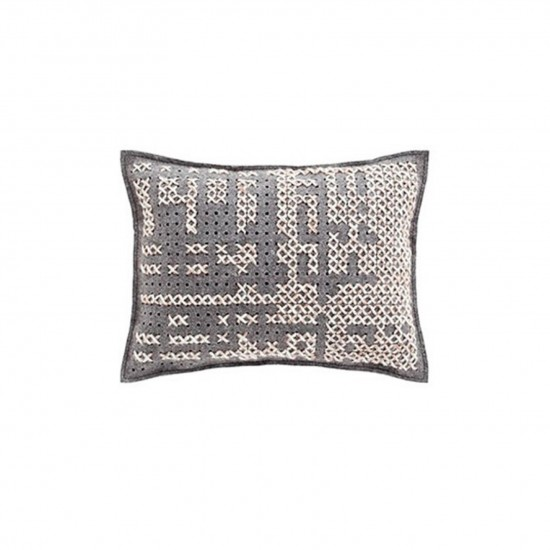 GAN SPACES CANEVAS ABSTRACT CARBON CUSHION
