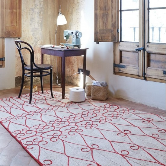 GAN SPACES VALENTINA CRIMSON RUG 170