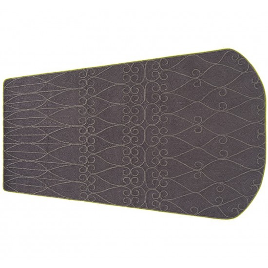 GAN SPACES VALENTINA GREY RUG 170