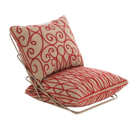 GAN SPACES VALENTINA CRIMSON CHAIR