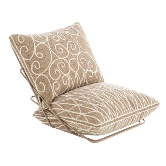 GAN SPACES VALENTINA BEIGE CHAIR
