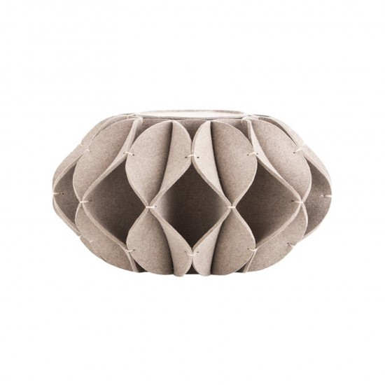 GAN ACCESSORIES RUFF POUF HIGH GREY