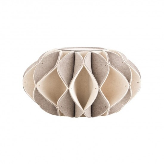GAN ACCESSORIES RUFF POUF HIGH BEIGE