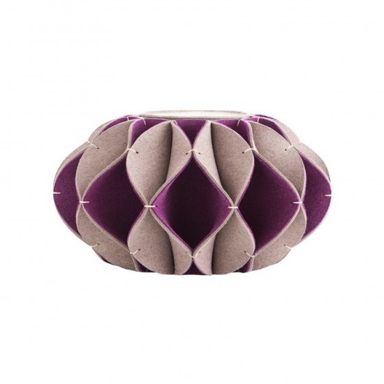 GAN ACCESSORIES RUFF POUF HIGH PURPLE