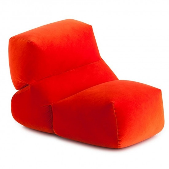 GAN GRAPY RED VELVET SOFT SEAT