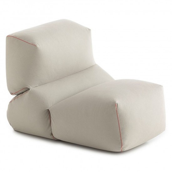 GAN GRAPY GREY COTTON SOFT SEAT
