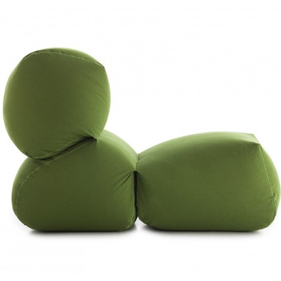 GAN GRAPY GREEN COTTON SOFT SEAT