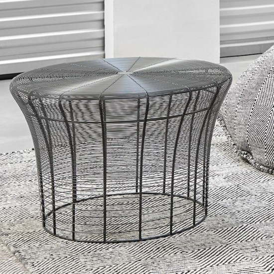 GAN ARAM ANTHRACITE HIGH TABLE