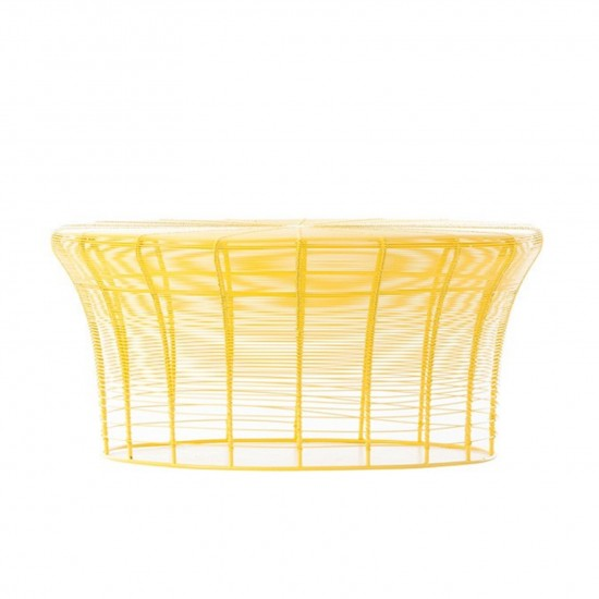 GAN ARAM YELLOW LOW TABLE