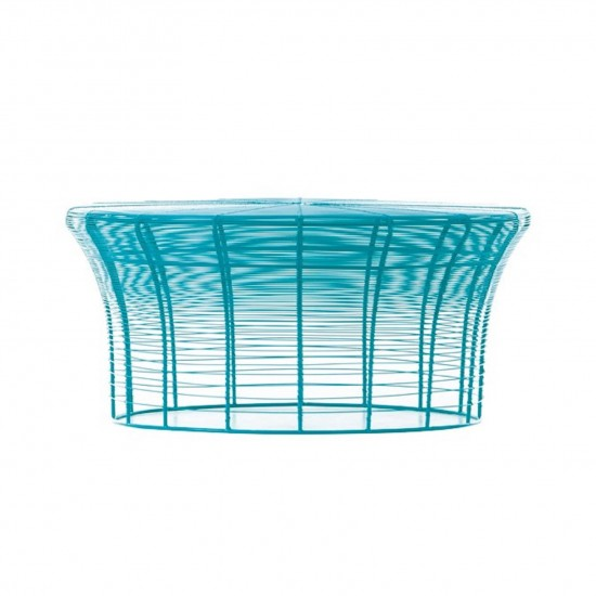 GAN ARAM TURQUOISE LOW TABLE