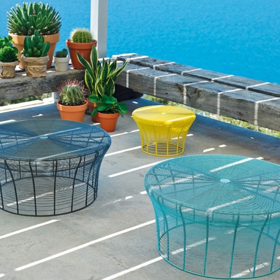 GAN ARAM TURQUOISE HIGH TABLE