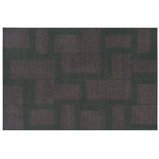GAN FELT COLLECTION ORYZA GREEN RUG 160