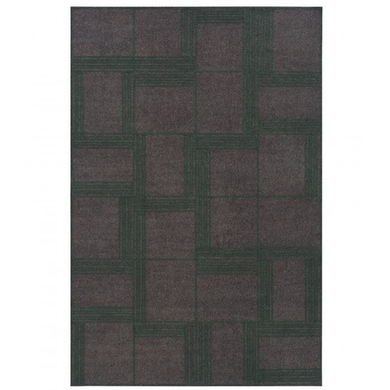 GAN FELT COLLECTION ORYZA GREEN RUG 200