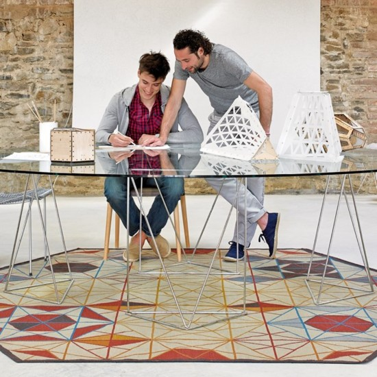 GAN KILIM COLLECTION HEXA RUG