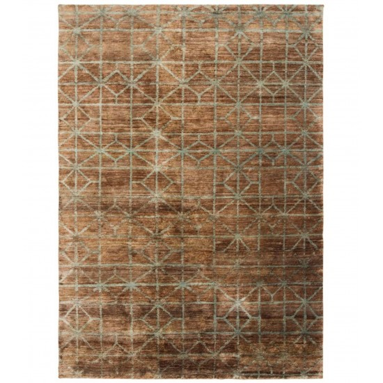 GAN HAND KNOTTED COLLECTION WATERKEYN TERRA RUG
